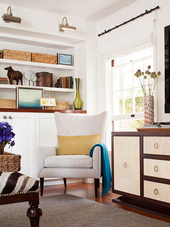 10 Tips for Living Room Storage