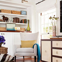 Stylish Living Room Storage