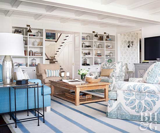 10 Ways to Use Living Room Furniture for Storage