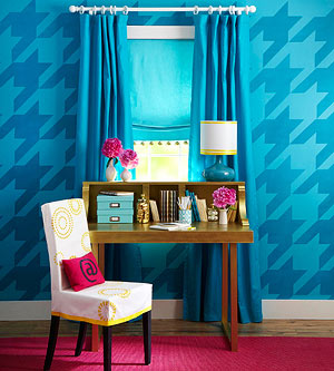 DIY Houndstooth Pattern