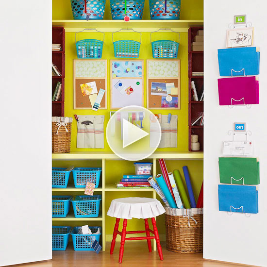 Easy Storage Projects Around the House