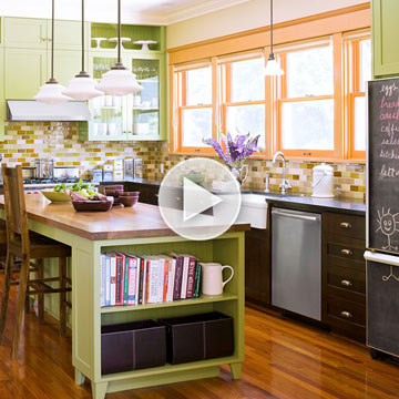 Watch: Custom Cabinets for Your Small Kitchen