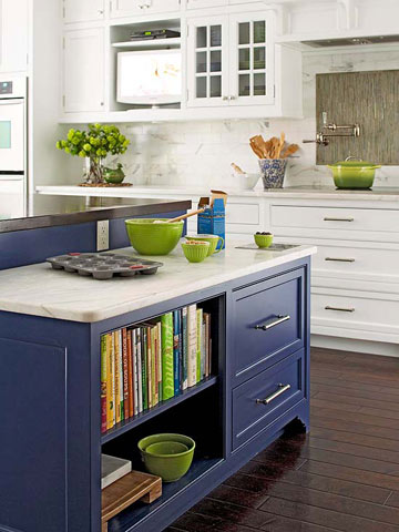 Color for Your Kitchen: Blue