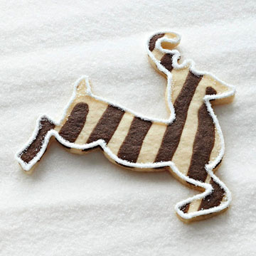 Santa's Reindeer Sugar Cookies