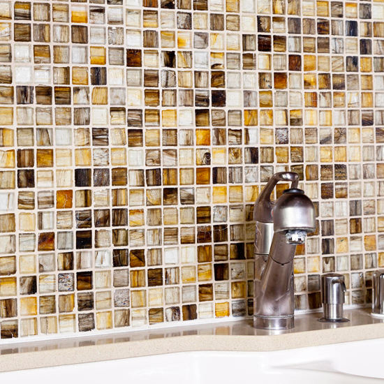 Glass tile backsplash lowes