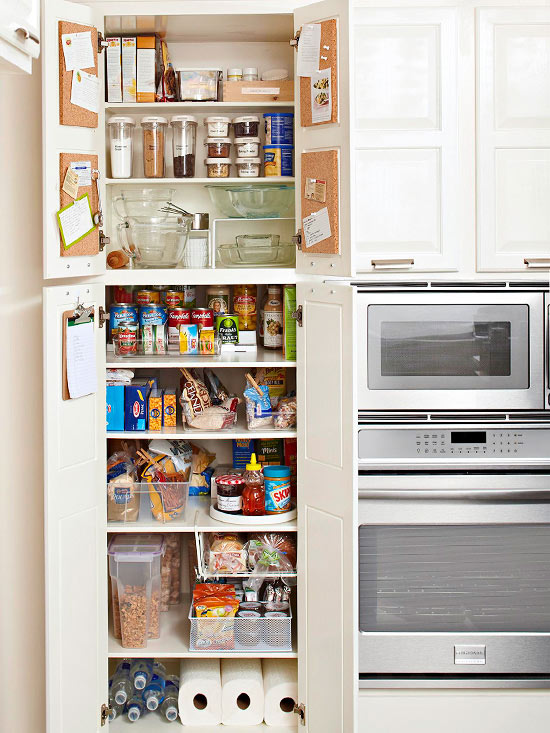 Top tips for kitchen pantry organization for Kitchen organization ideas