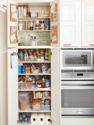 Taking Stock: Tips to Get an Organized Pantry