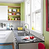 Create a White Kitchen on a Budget
