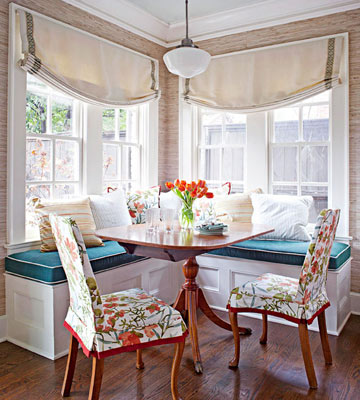 Add a Banquette with Storage