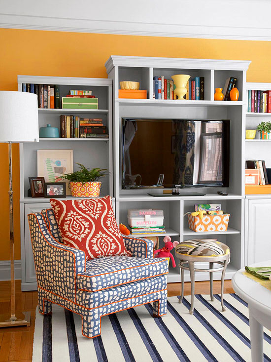 Family Room Fusion. Family Room Decorating Ideas