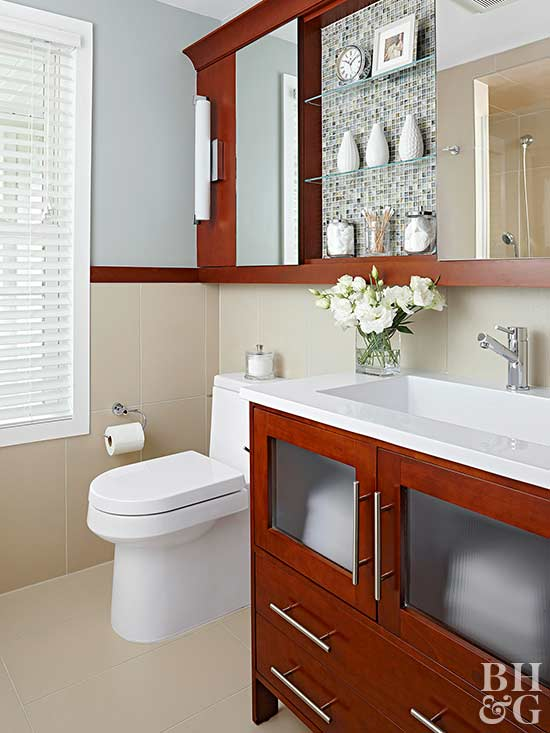 Small Bathroom Storage - Small bathroom cabinet with drawers for small bathroom ideas