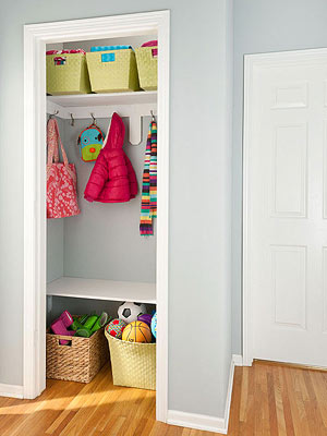 Closet Ideas for Better Organization