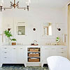 Bathroom Vanity with Historical Charm