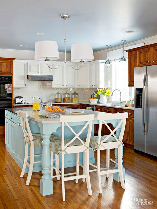 TwoTone Kitchen Cabinets - Two color kitchen cabinet ideas