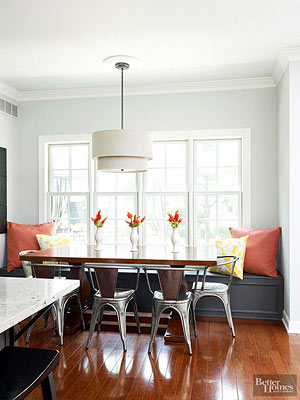 Supplement A Banquette Bench With Additional Chairs On The Opposite Side Of Table And Ends Depending Your Banquettes Configuration