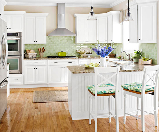 Timeless style Kitchen backsplash ideas bhg