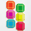 Paper Gemstone Coasters