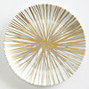 Metallic Burst Porcelain Plate
