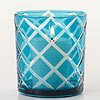 Lattice Print Votive Holder