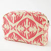 Hand Printed Cosmetic Case