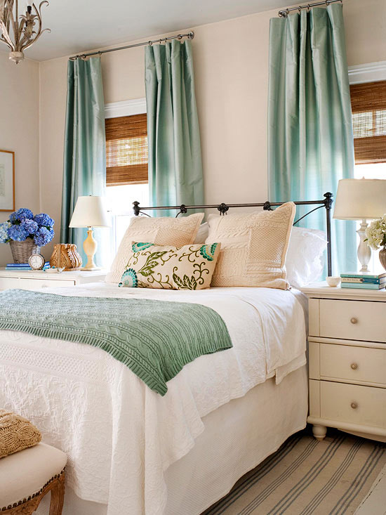 layers of style - How To Decorate A Small Bedroom