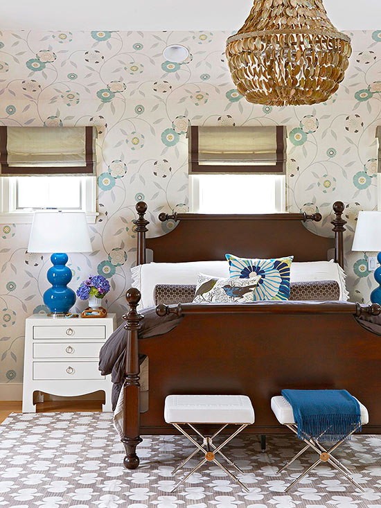 take your blue scheme cue from bedroom furniture finishes bedsteads armoires vanity tables and dressers claim a fair share of a bedrooms visual and