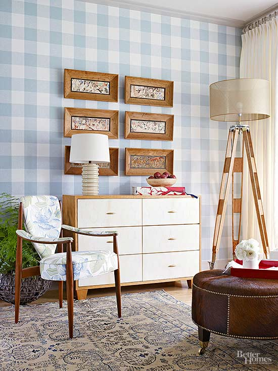 Decorating with Plaid