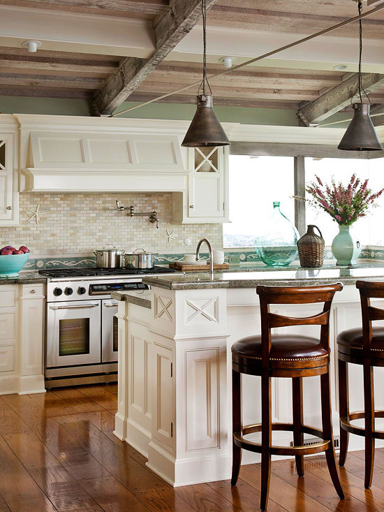 Island kitchen lighting for Kitchen pendant lighting island