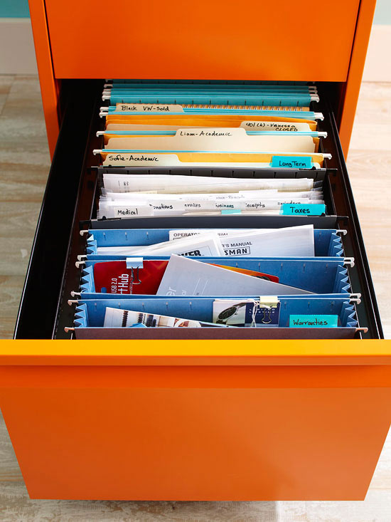 5-Minute Decluttering: File Folders