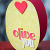 Olive You Valentine's Day Card