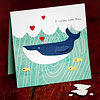 Aquatic Valentine's Day Card