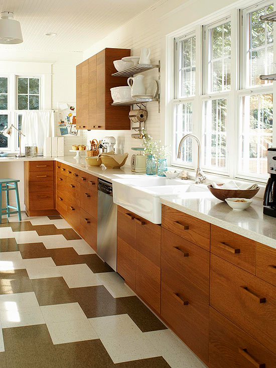 Vinyl Kitchen Flooring Part - 45: Better Homes And Gardens