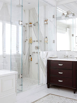 No Matter Its Type, A Bathroom Shower Can Make A Big Statement Or Quietly  Enhance A Roomu0027s Overall Design. Take Time To Choose Surfaces, Add On  Conveniences ...