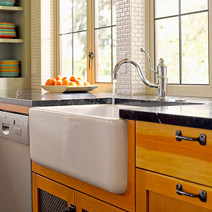 Attractive Apron Sinks, Also Called Apron Front Or Farmhouse Sinks, Bring Instant  Charm And Vintage Appeal To Your Cooking Space. Distinguished By Their  Exposed Front ...