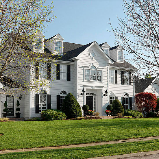 colonial style - Colonial Design Homes