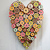 Heart Spools Valentine Plaque