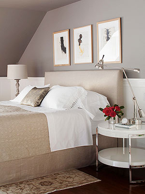 schemes are a popular choice when it comes to decorating bedrooms
