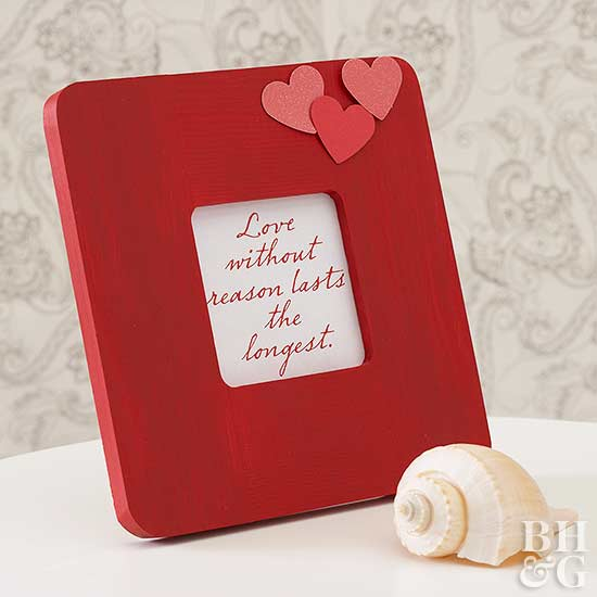 Framed Love Quote Gift