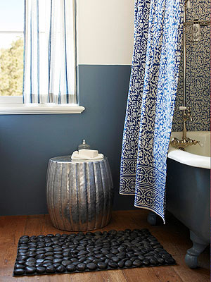 Bath Ideas: Colorful Baths Slide Show
