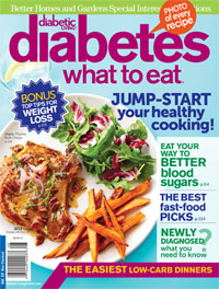 Diabetes: What to Eat Magazine