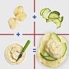 Hummus & Cucumber Chips