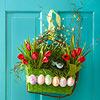 Easter Basket Door Decoration