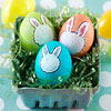 Painted Bunny Easter Eggs