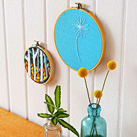 Cute Embroidery Art