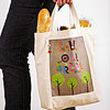 Canvas Tree Tote