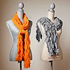 Easy Ruffled Scarves