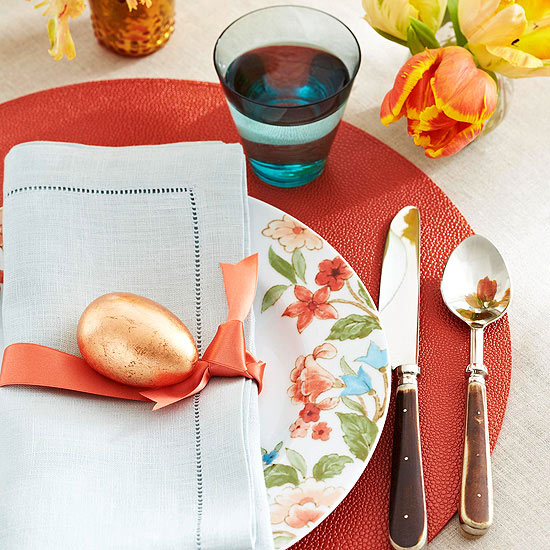 Cheery Easter Place Setting