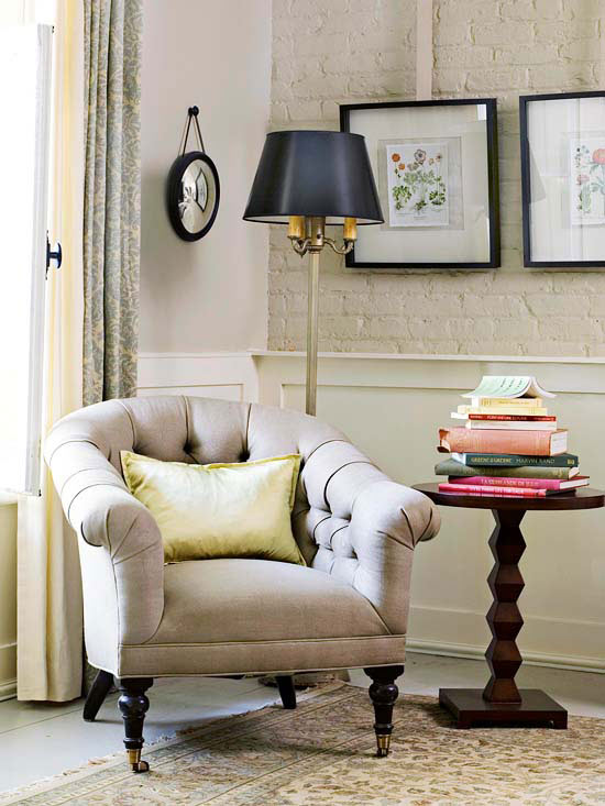 Choose Small Scale Furnishings