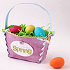 Pretty Paper Easter Basket