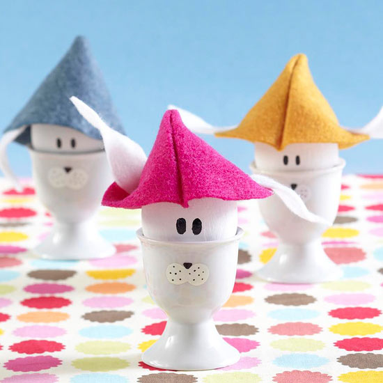 Easter Bunny Egg Cups